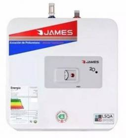 TERMOTANQUE ACERO JAMES 20 LTS S/SUPERIOR