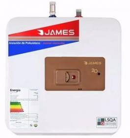 TERMOTANQUE COBRE JAMES 20 LTS S/SUPERIOR
